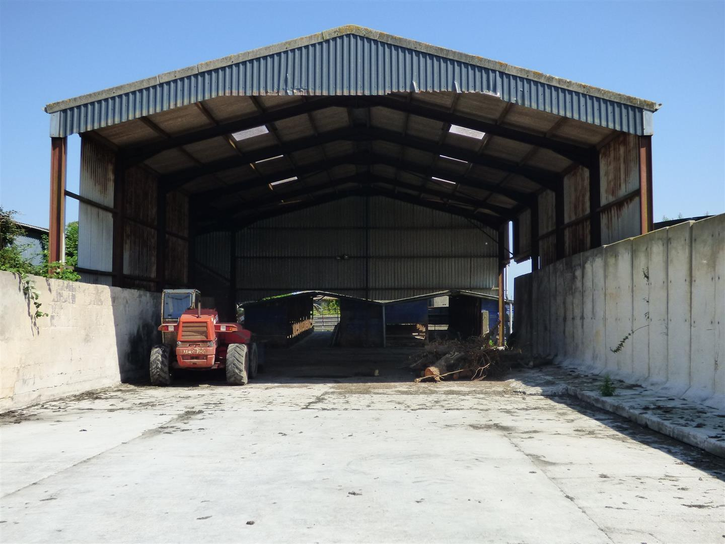 SILAGE SHED